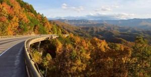 The Smoky Mountains in the fall